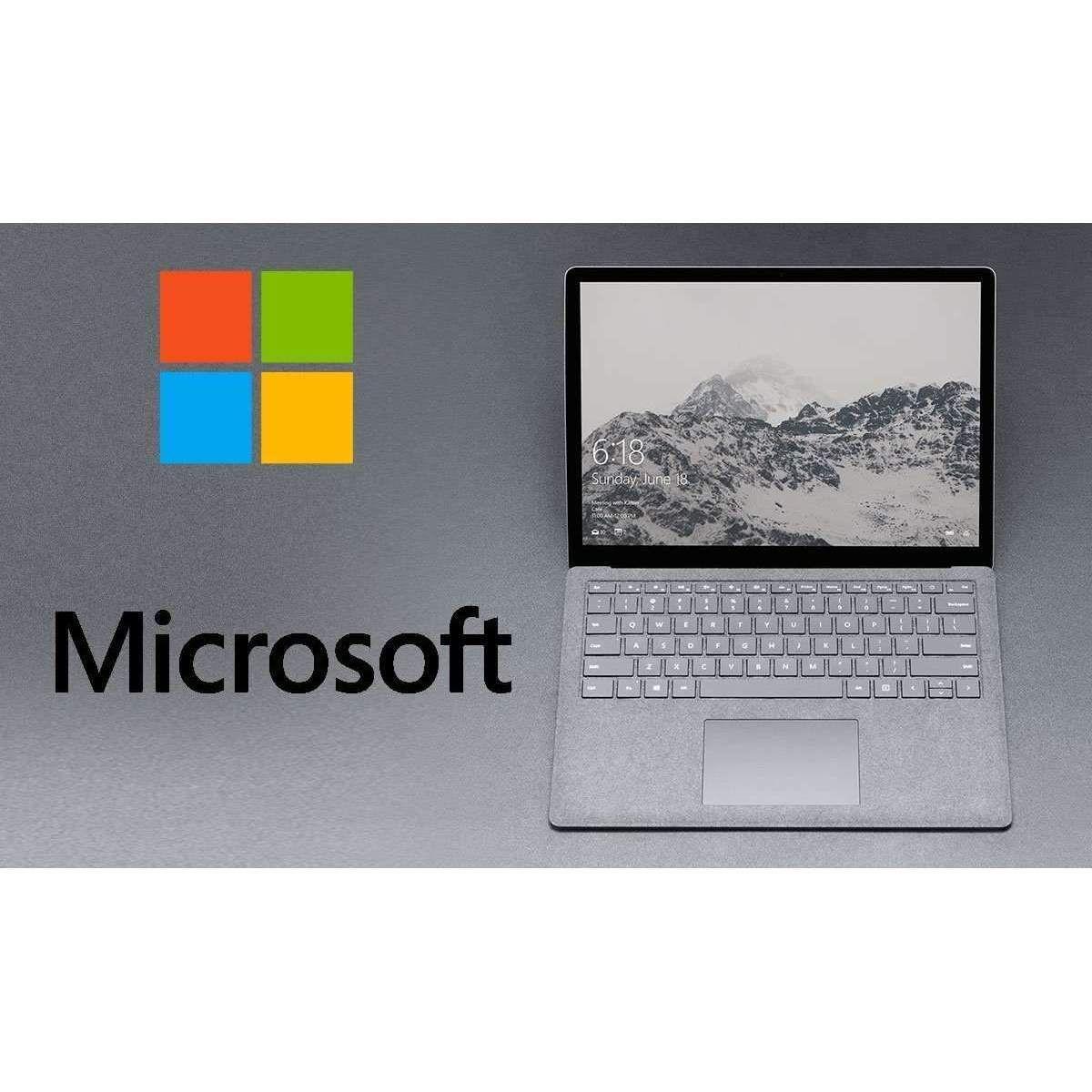 Microsoft Surface Laptop 13.5'' windows 10 core i5 Top