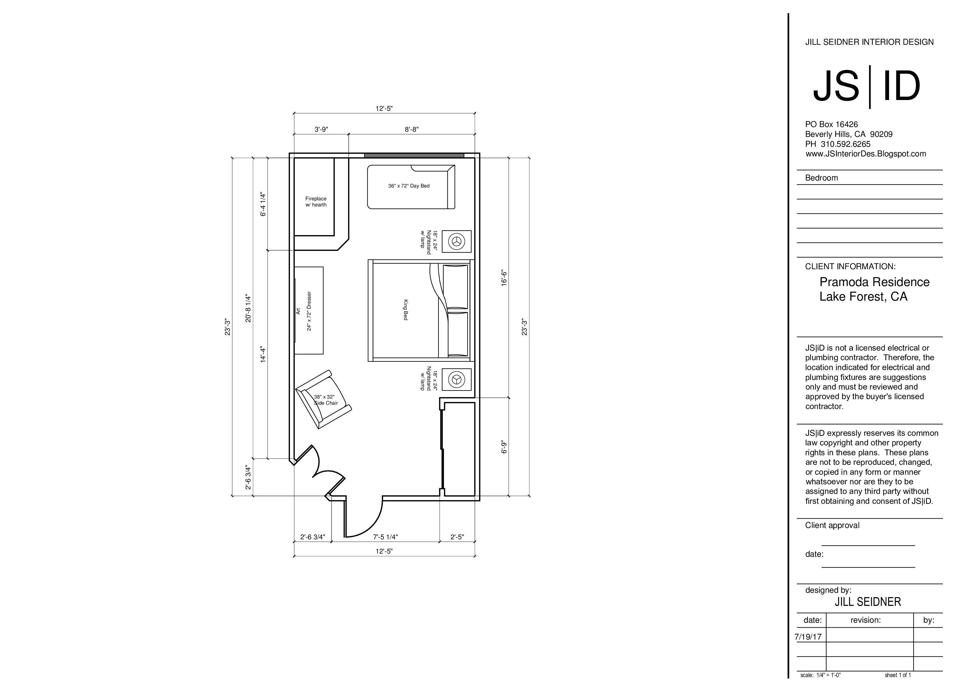 Master bedroom layout  Lake Forest CA Master Bedroom Furniture Floor Plan Layout