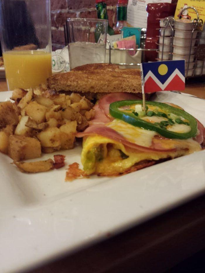 9. Denver Omelet
