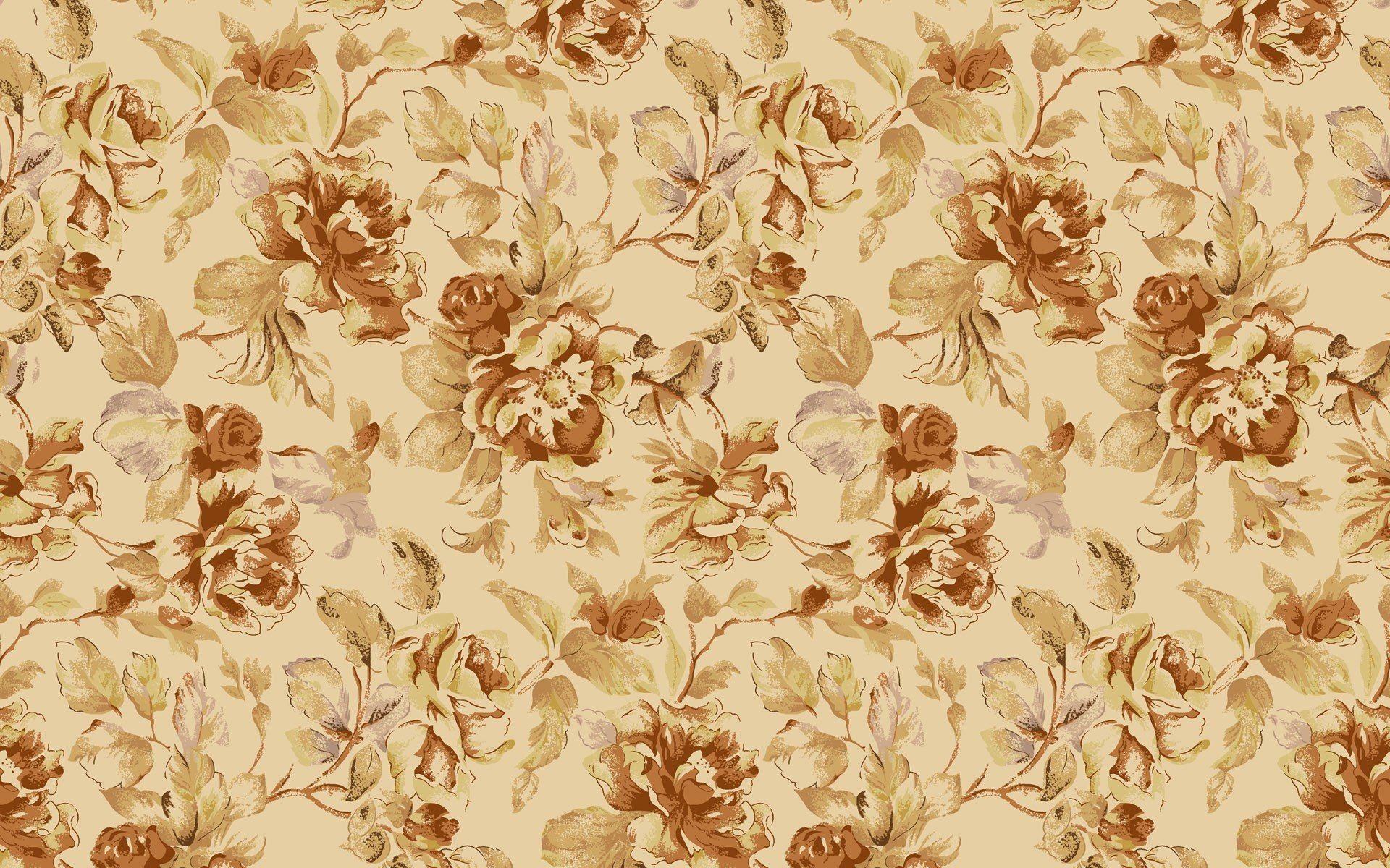 Classic Wallpaper Patterns Vintage Floral Pattern Hd