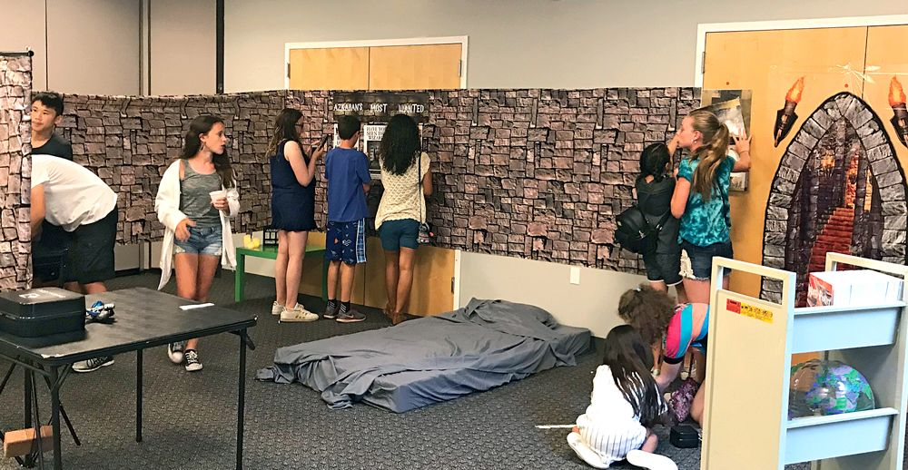 School Library Journal Article About Escape Rooms Including