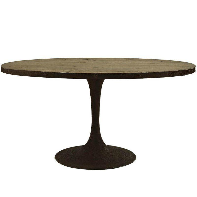 Table de salle à manger Leahy cuisine Pinterest Oval dining