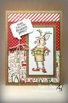 Karen's Creations: Reindeer Games