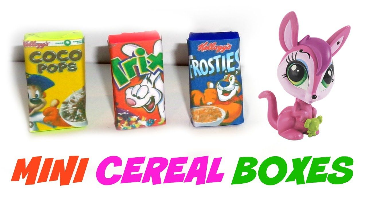 Diy miniature cereal boxes tutorials pinterest miniatures diy miniature cereal boxes ccuart Choice Image