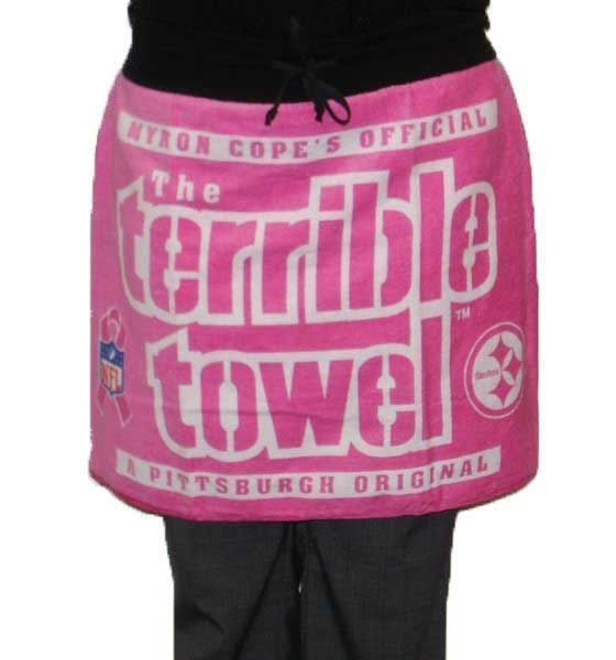 Picture of Pittsburgh Steelers Breast Cancer Awareness Terrible Towel  Gameday Pink Skirt c54bc374a