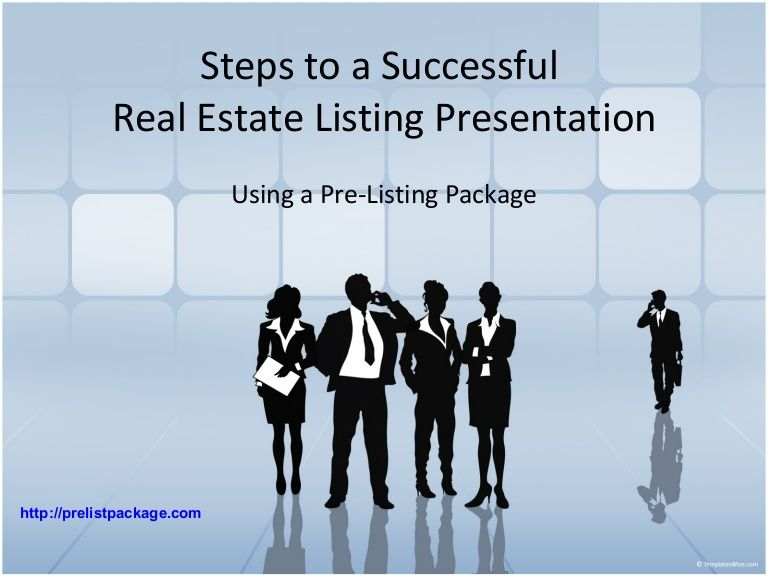 Real Estate Listing Presentation Real Estate Presentation - Listing presentation template