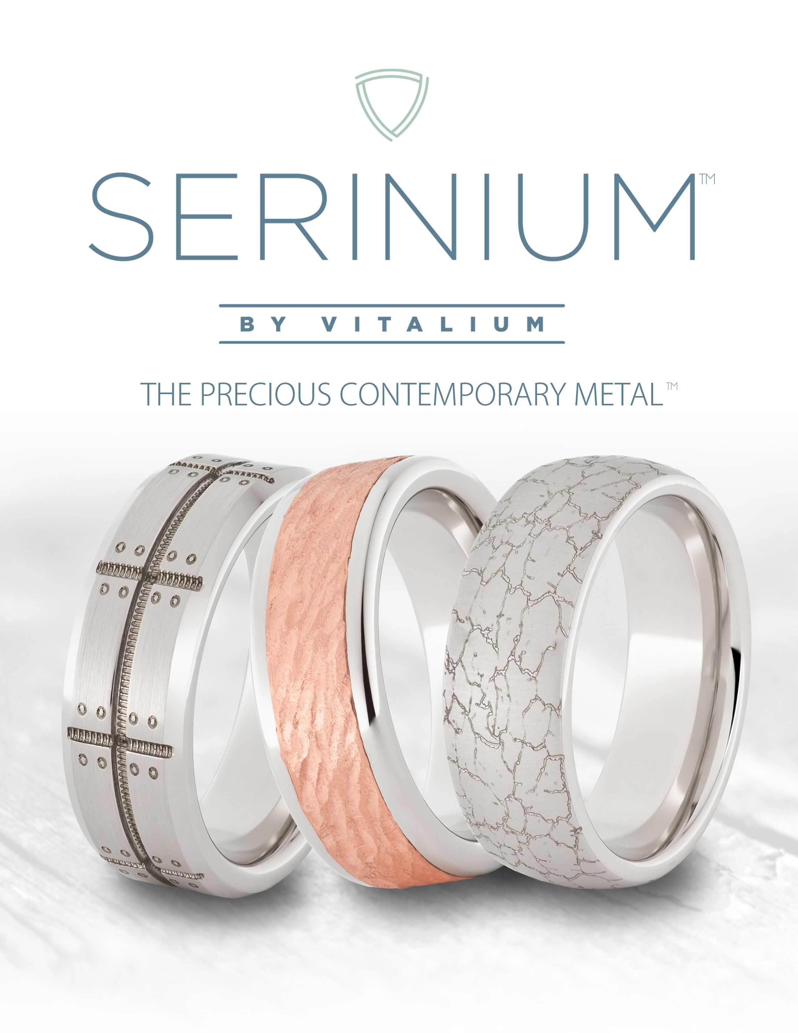 serinium men s wedding ring the precious contemporary metal is