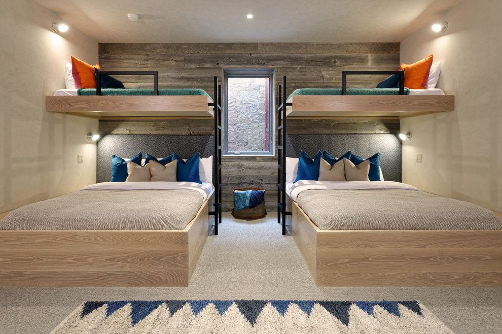 Fine Homebuilding Contemporary Bedroom Colour Schemes Denver Accent Wall Bunk Bed Ladder Beds Room
