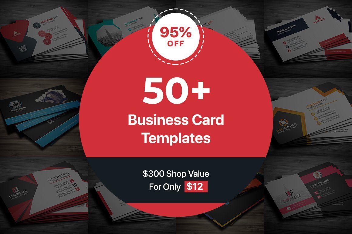 50 Business Cards Bundle By Pixelpick On Creativemarket Business Card Te Business Cards Creative Templates Business Card Template Design Minimal Business Card