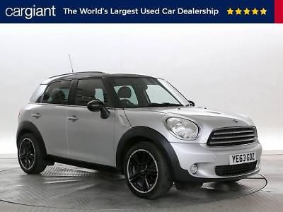 2017 63 Reg Mini Countryman 1 6 Cooper D All4 Chili Pack Silver Black 5 Stan Vehicle And Cars
