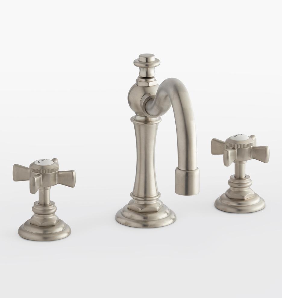 Connor Cross Handle Widespread Bathroom Faucet Rejuvenation In 2021 Faucet Bathroom Faucets Widespread Bathroom Faucet [ 990 x 936 Pixel ]