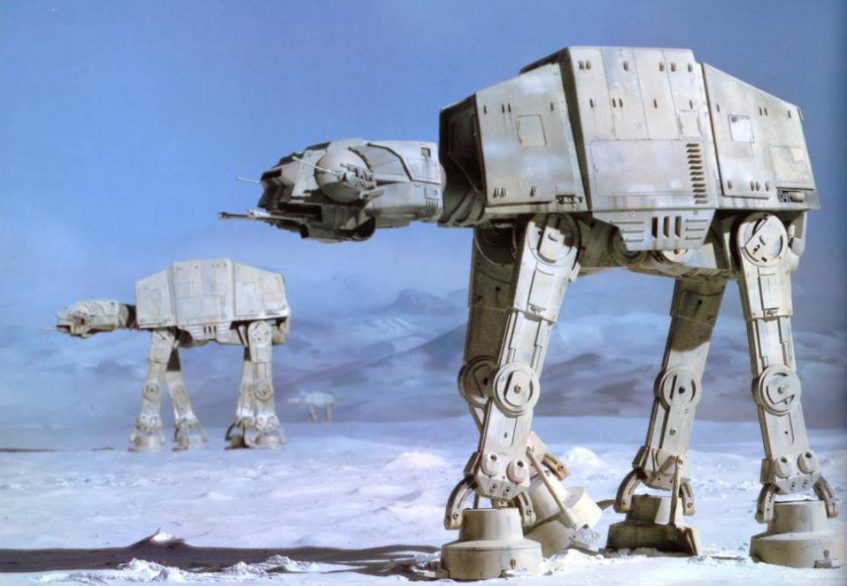 Imperial Walkers Have Been Spotted Inside Star Wars Land