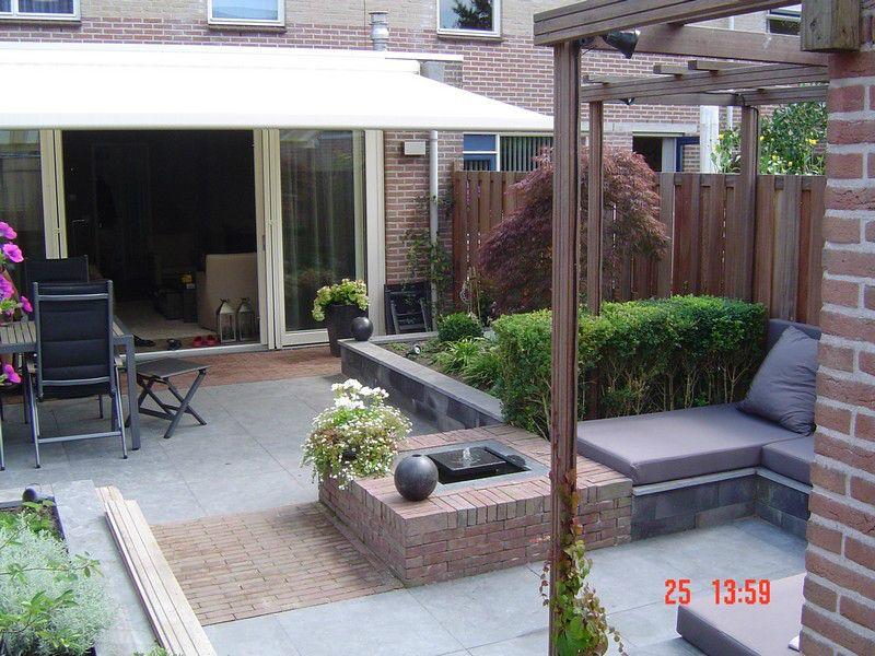 Voorkeur voorbeeld bakken bestrating | tuin - Backyard landscaping, Small #WA79