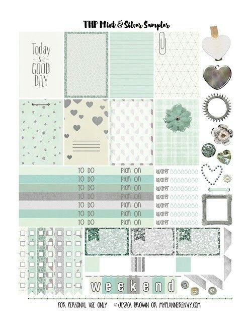 free office planner. Mint \u0026 Silver Sampler - Free Planner Printables | Home Office Planners Stationery Favs Pinterest Planner, And T