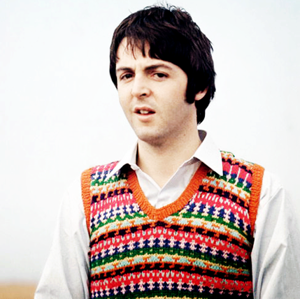 Awesomely bright Fair Isle on Paul McCartney | Fair Isle/Nordic ...