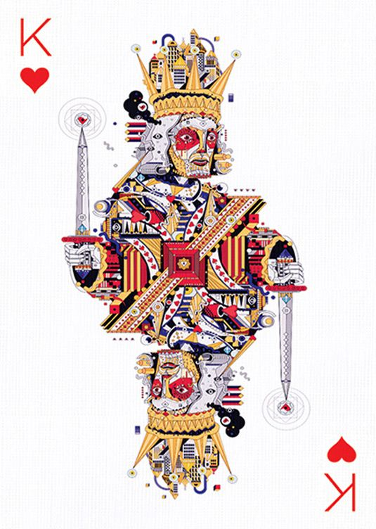 10 amazing playing cards designs Card Design Playing cards art
