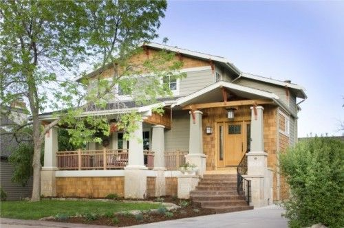 Craftsman Style Character: A Low Pitched, Gabled Roof. These Roofs  Typically Have