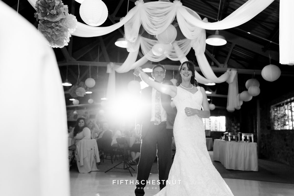 Father daughter first dance at a Marvel themed wedding   Wedding ...