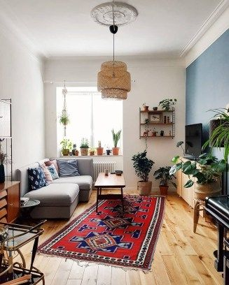 48 Wonderful Bohemian Living Room Makeover Ideas Indian Inspired Accent Toss Pillows Bring A Eclectic Living Room Minimalist Living Room Indian Living Rooms