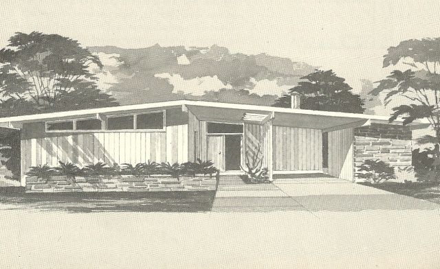 Mid Century Modern House Plans House Plans 1960s Homes Vintage