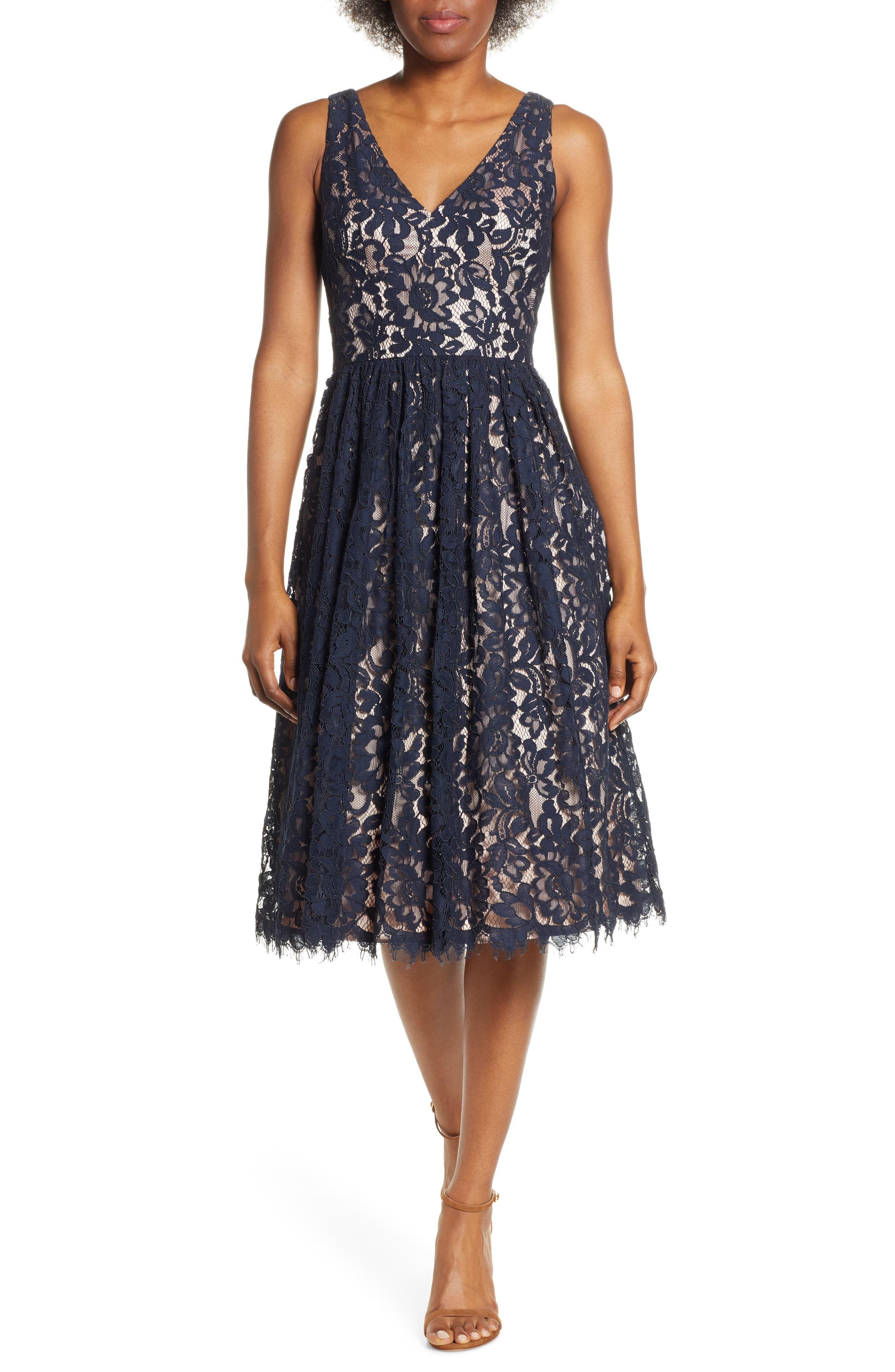 Womens Eliza J Floral Lace Dress Size 18 Similar To 14w