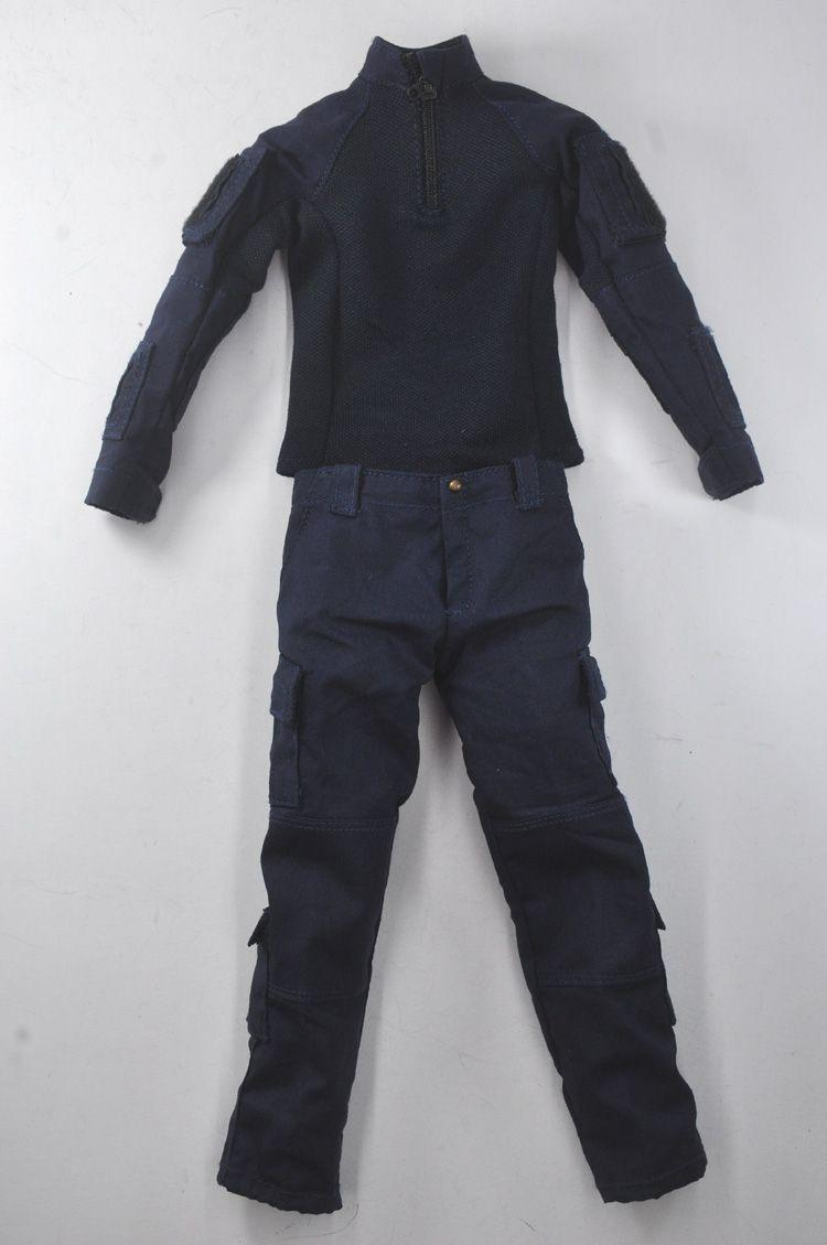 1//6 Scale Soldier Story SS103 HK Airport Security Unit ASU combat pants