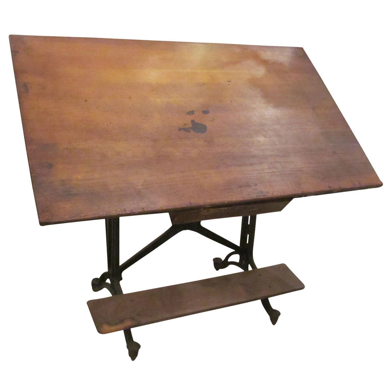 Adjustable Drafting Table ...