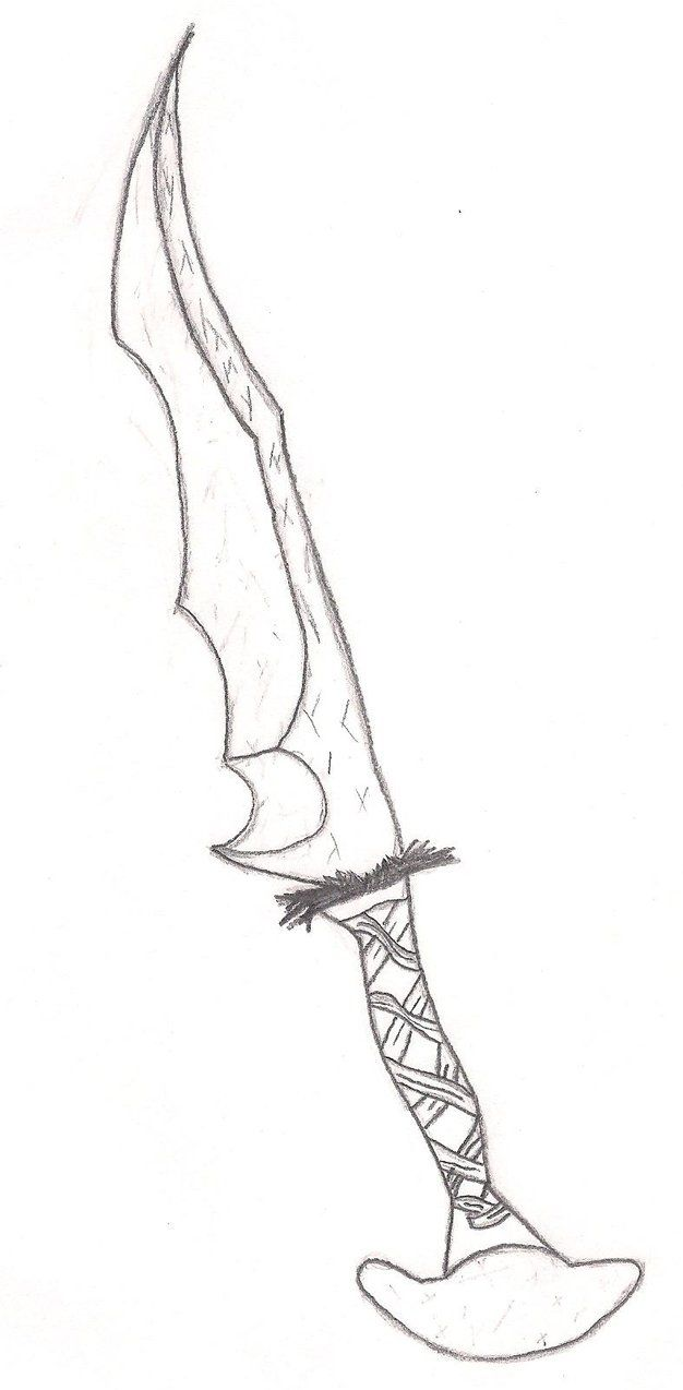 Finished Orc Sword Skyrim Easy Drawings Skyrim Drawing Sword Drawing