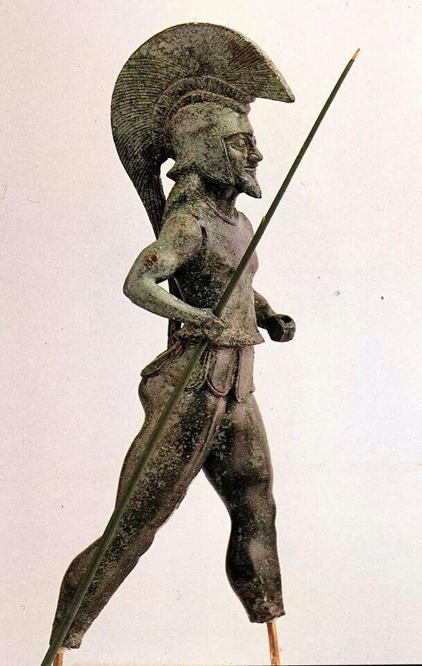 - Hoplita - Dodona , 530-510 BC