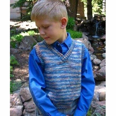 e5ab848ff Knitting Pure   Simple 256 Basic Vest For Children