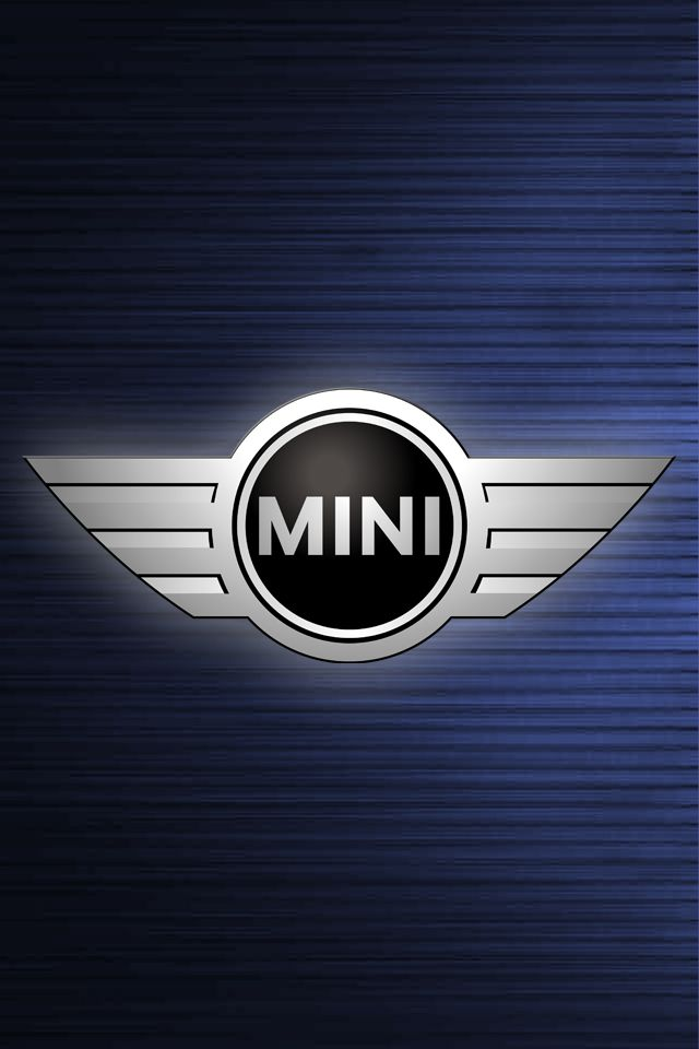 Mini cooper logo blue wallpaper for iphone 4 and 4s hd wallpaper mini cooper logo blue wallpaper for iphone 4 and 4s hd wallpaper background voltagebd Images