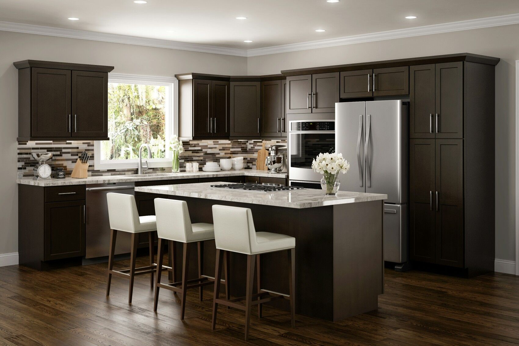 Pin By Carolina Cabinetry And Design On Jsi Cabinetry Espresso Kitchen Cabinets Classic Kitchen Cabinets Online Kitchen Cabinets