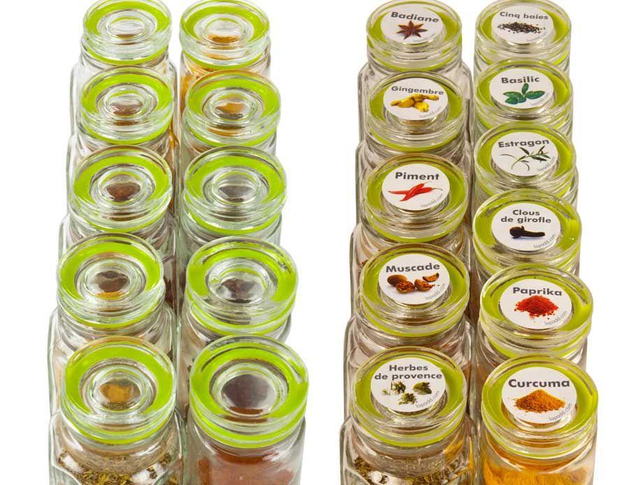 cuisine rangement stickers epices lapadd stickers pices retrouvez. Black Bedroom Furniture Sets. Home Design Ideas