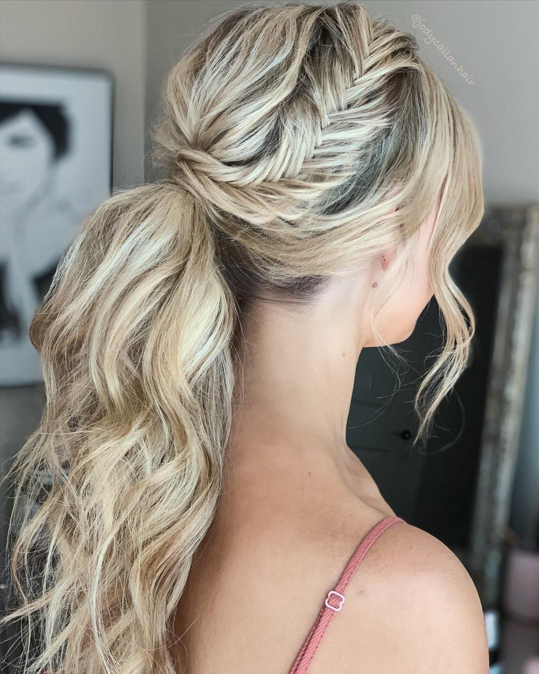 hair by @jodycallanhair for my beautiful bride to be for her