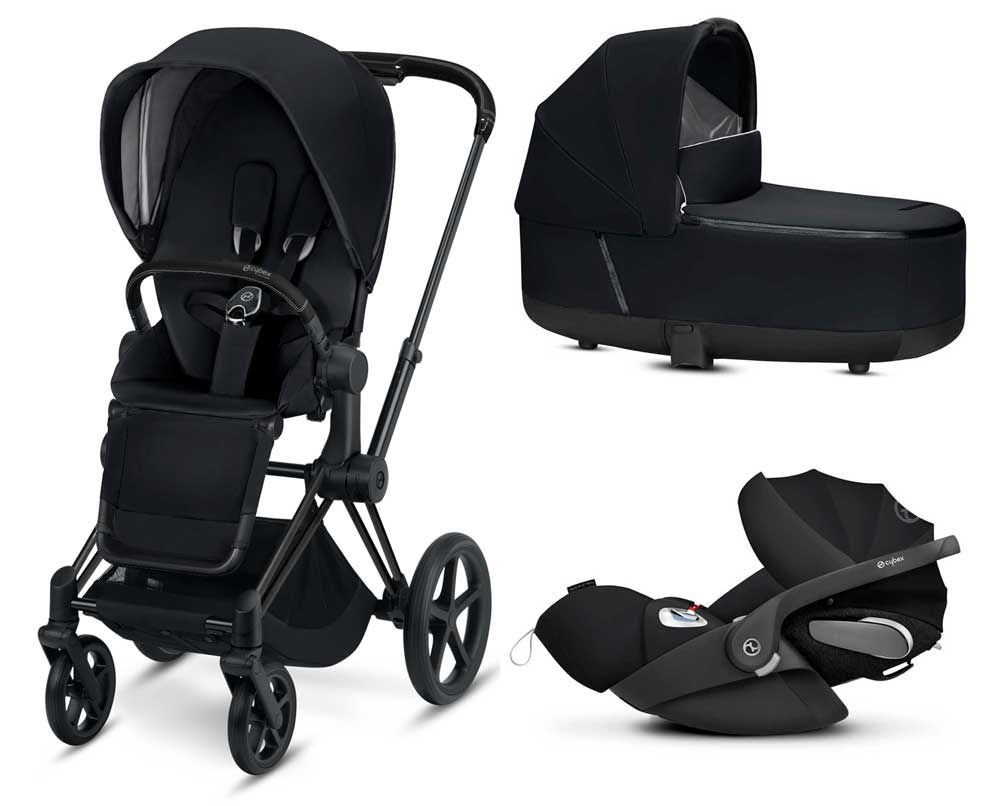 Cybex Buggy Liegeposition Cybex Priam Kinderwagen Set 3 In 1 Mit Cloud Z Babyschale