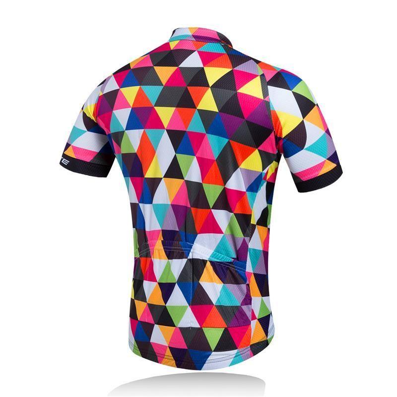 Vélo vélo maillot manches courtes T-Shirt vêtements Sportwear vélo homme Tops