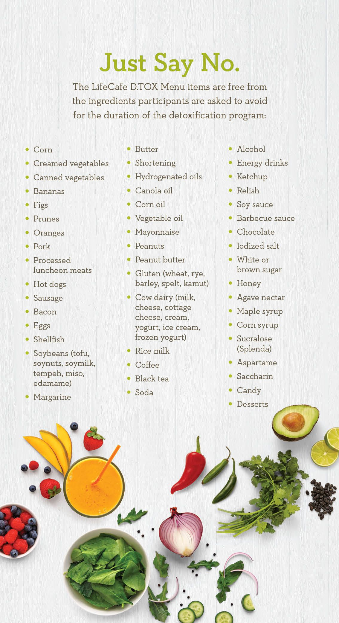 mayo 21 day detox diet menu