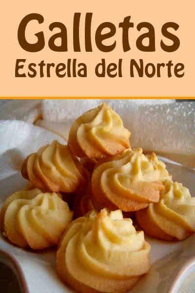 Sencillas Comidas Rapidas Para Hacer En Casa Galletas Estrella Del Norte Recetas Deliciosas Comidas Dulces