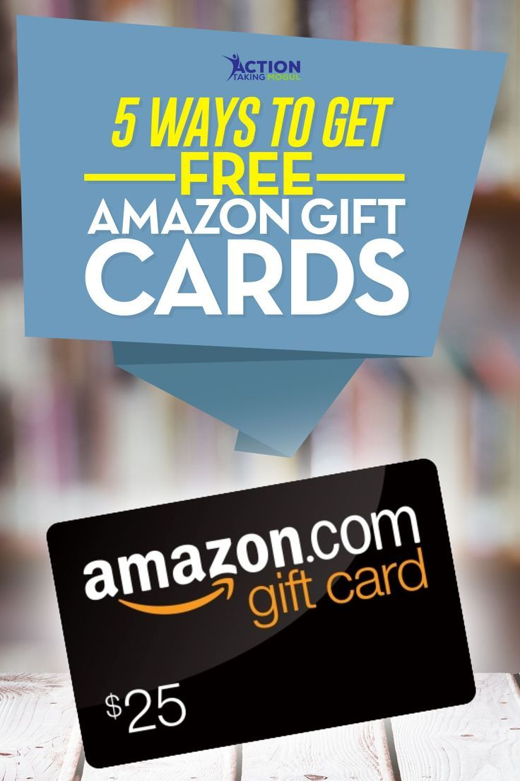 5 Ways To Get Free Amazon Gift Cards So You Can Buy Awesome Stuff Amazon Gift Card Free Free Amazon Products Amazon Gifts