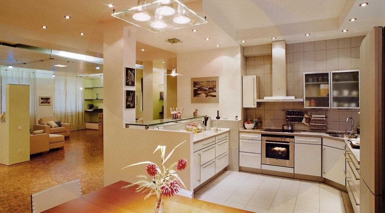 Kitchen Lighting Fixtures For Low Ceilings Bright Kitchen ...