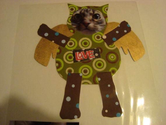 Your Pet's Face on a Work of Art / magnet by kittykittycupcake, $20.00