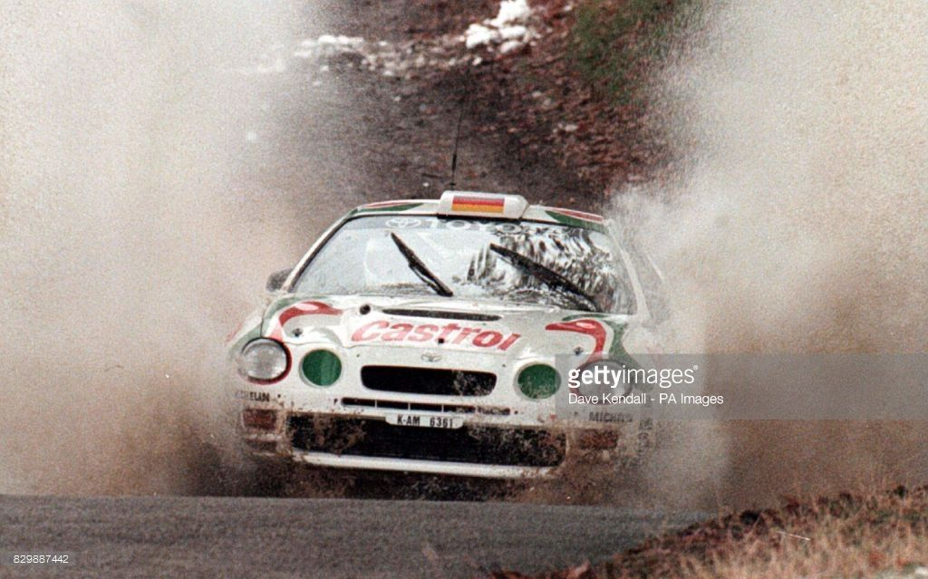 Network Q RAC Rally. Making a splash.. Rally leader Armini Schwarz ...