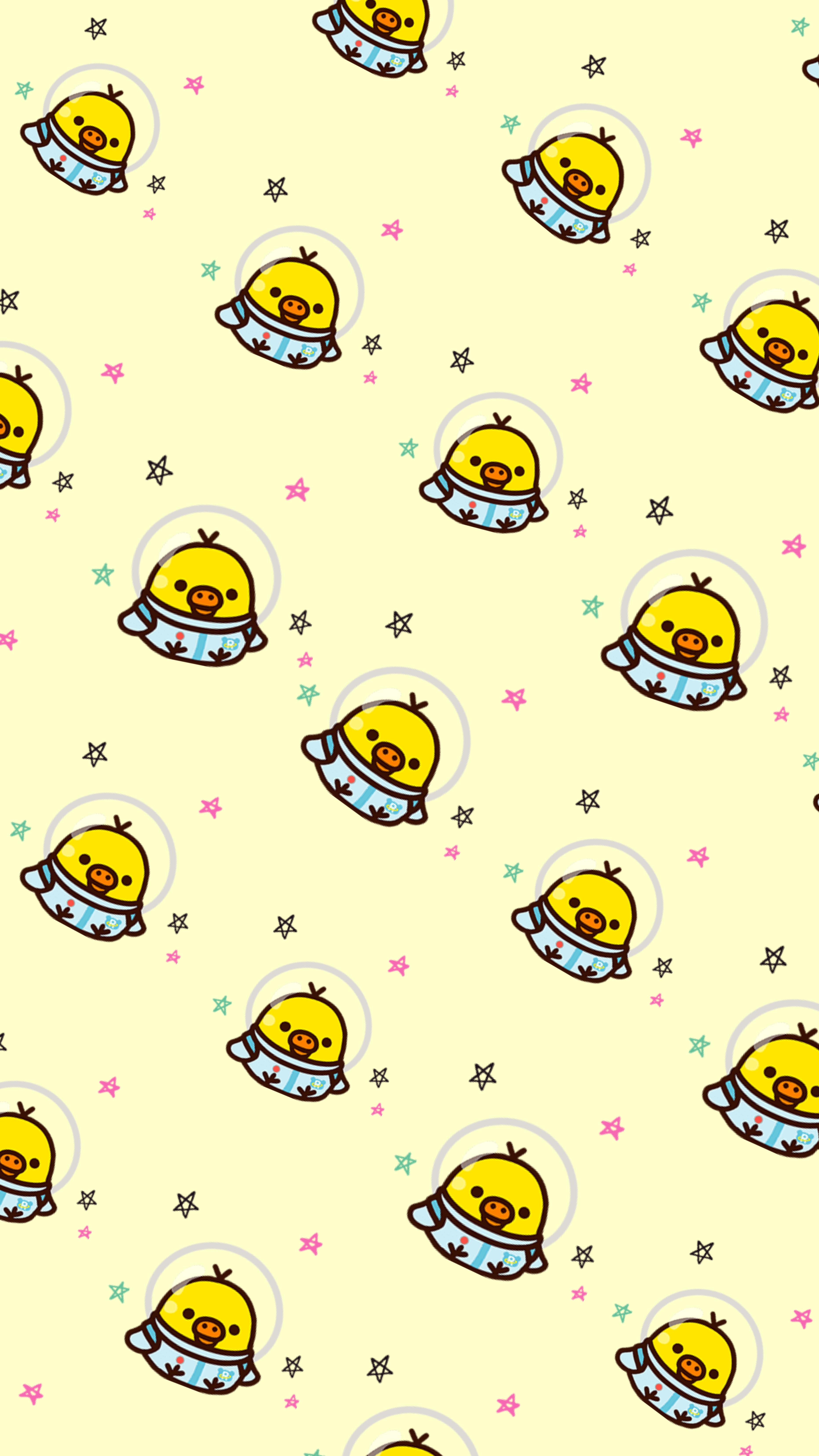 Kiiroitori Rilakkuma Wallpaper Cute Wallpapers Cute Cartoon
