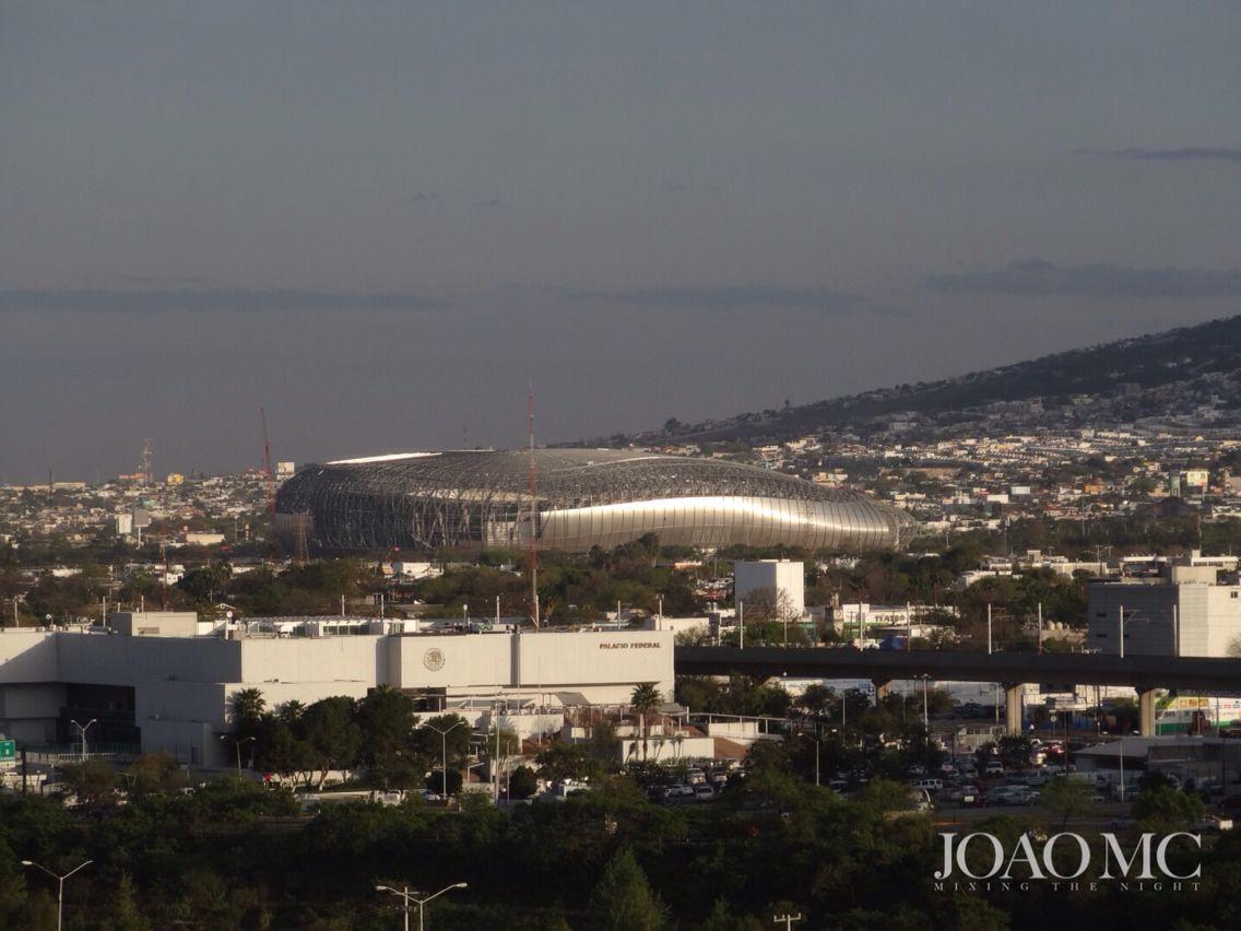 Nuevo estadio Rayados de Monterrey