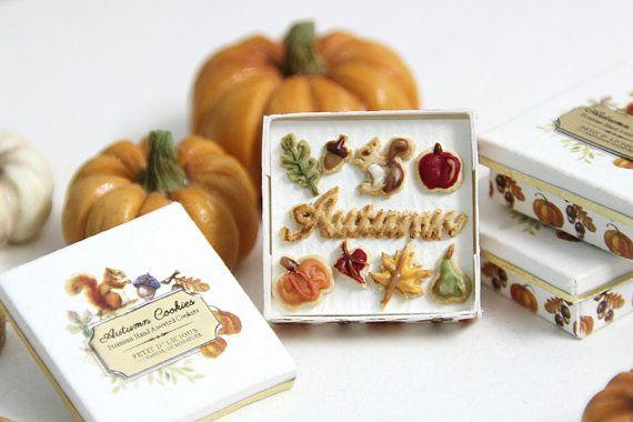 Otoño Galletas caja de regalo por PetitDlicious ♡ ♡