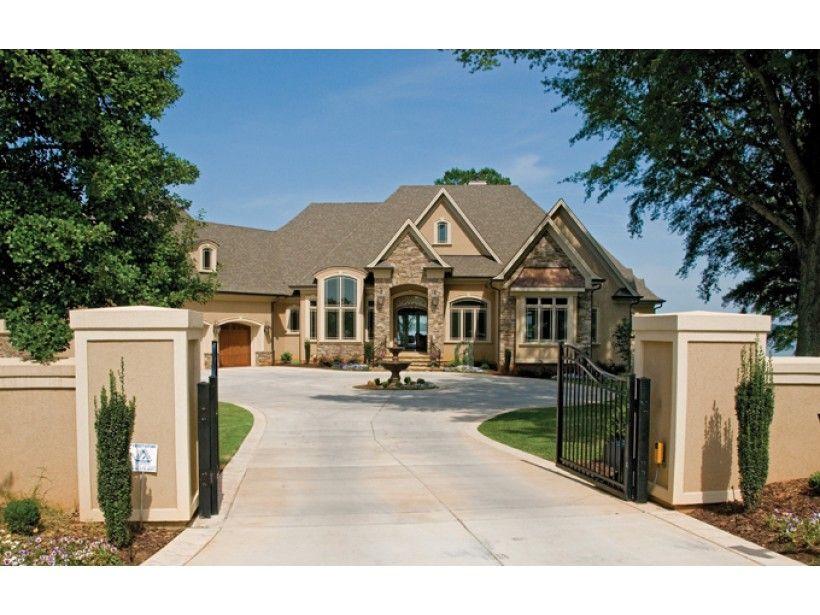 ePlans European House Plan – European Estate Home – 6155 Square Feet ...