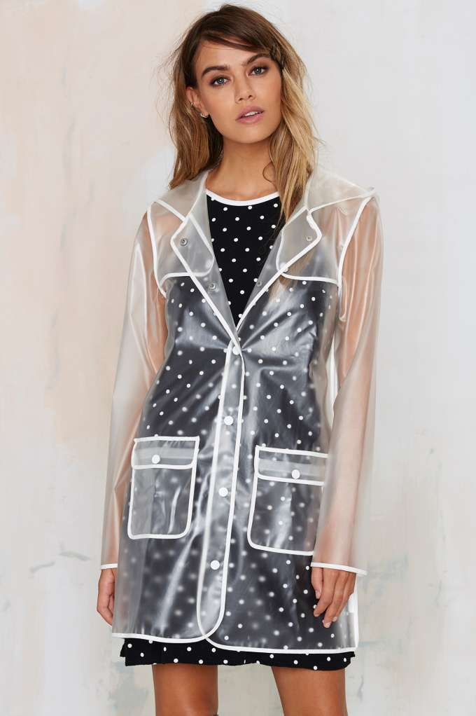 Pin On Things I Can T Afford, See Through Plastic Trench Coat