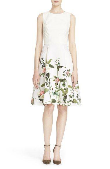 b12effa96d0a2 Ted Baker London  Karolie - Secret Trellis  Sleeveless Dress ...