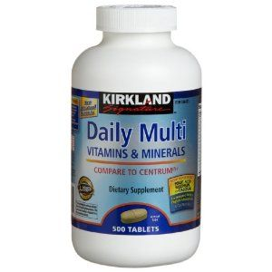 Http Www Amazon Com Kirkland Signature Vitamins Minerals 500 Count Dp B002rl8fcu Ref Sr 1 2 S Hpc Utf8 1340490660 Vitamins And Minerals Vitamins Multivitamin