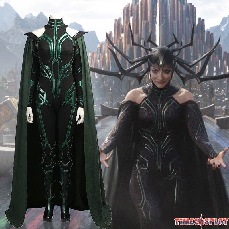 Thor Ragnarok Hela Costume Deluxe Jumpsuit Cosplay Cosplay Costumes Cosplay Catwoman Cosplay